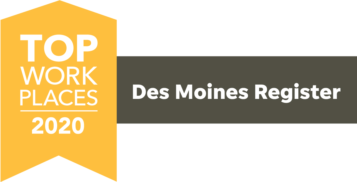 Top workplaces Des Moines 2020
