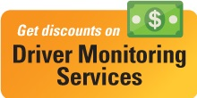 Get discounts on Driver Monitoring Services