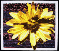 Yellow Flower Art