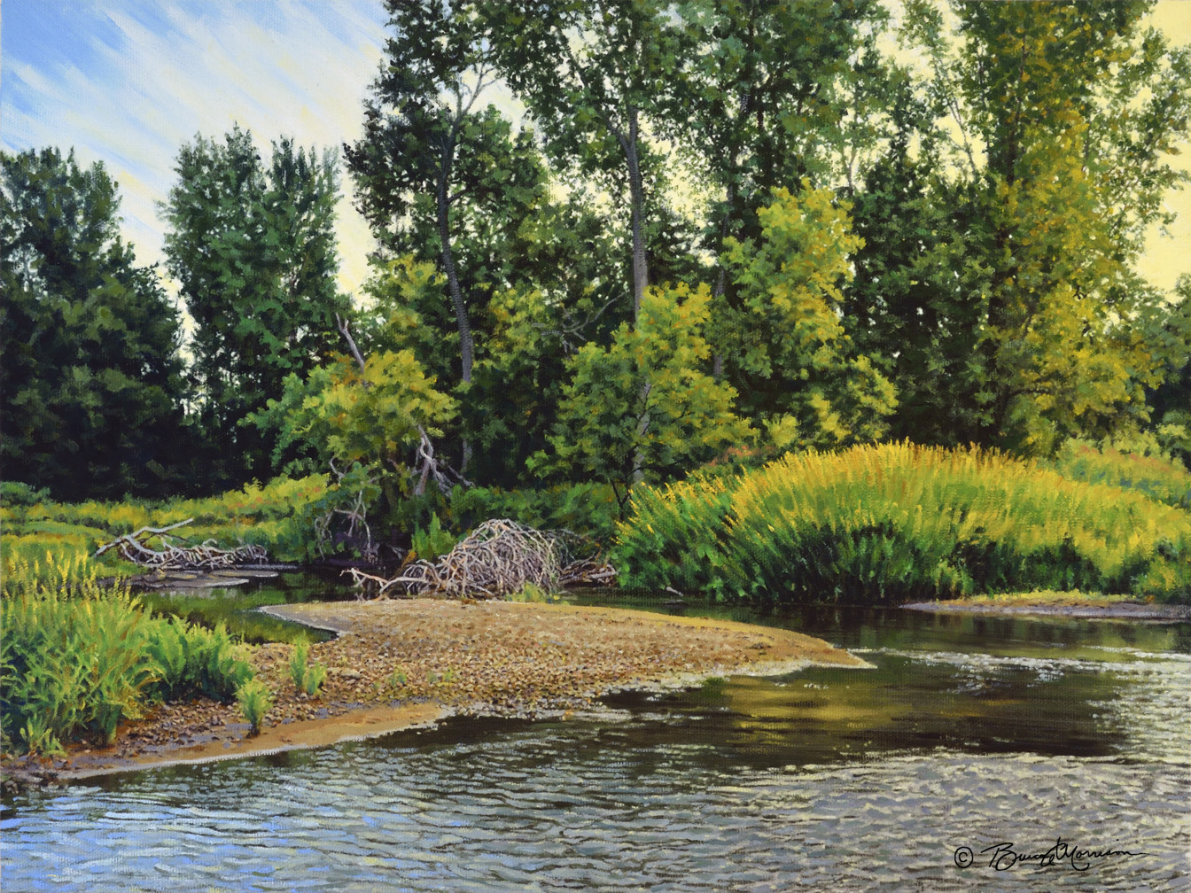 Creek Bend Painting