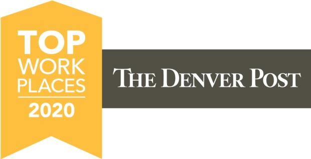 The Denver Post Top Workplaces in 2020 logo