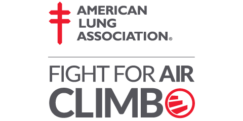 EMC participates in American Lung Association Fight for Air Climb.