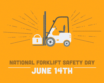 forklift safety day June 14th