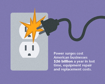 plug sparking in outlet