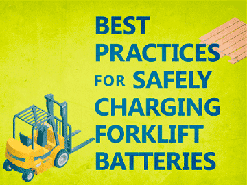 charging forklift batteries