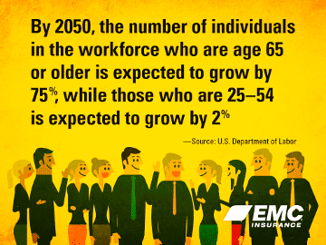 aging workforce stats