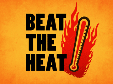 beat the heat sign