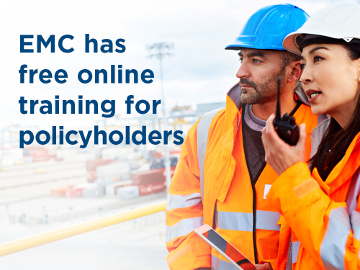 EMC has free online training for policyholders