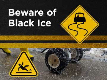 Beware of Black Ice
