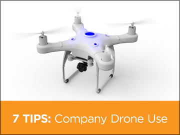 EMC's 7 tips for company drone use