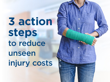EMC's 3 action steps to reduce unseen injury costs