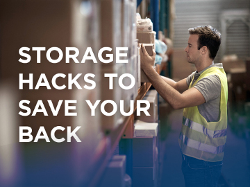 Storage hacks to save your back