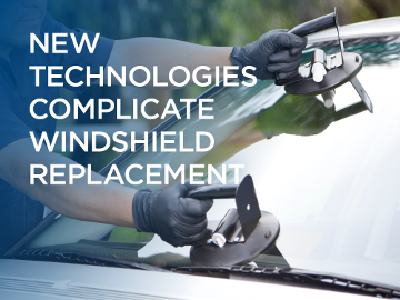 New technologies complicate windshield replacement