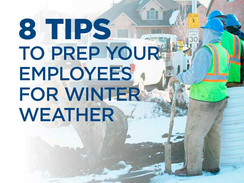 8 tips to prep your employees for winter weather