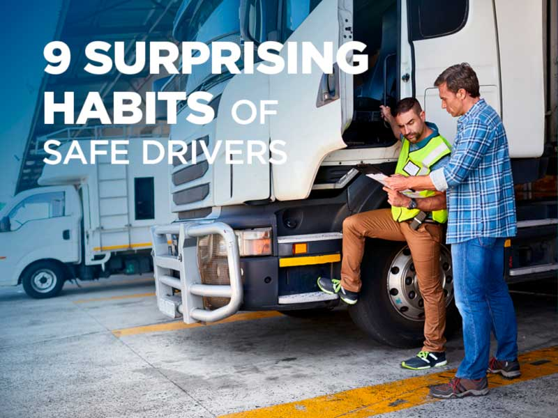 9 surprising habits of safe drivers
