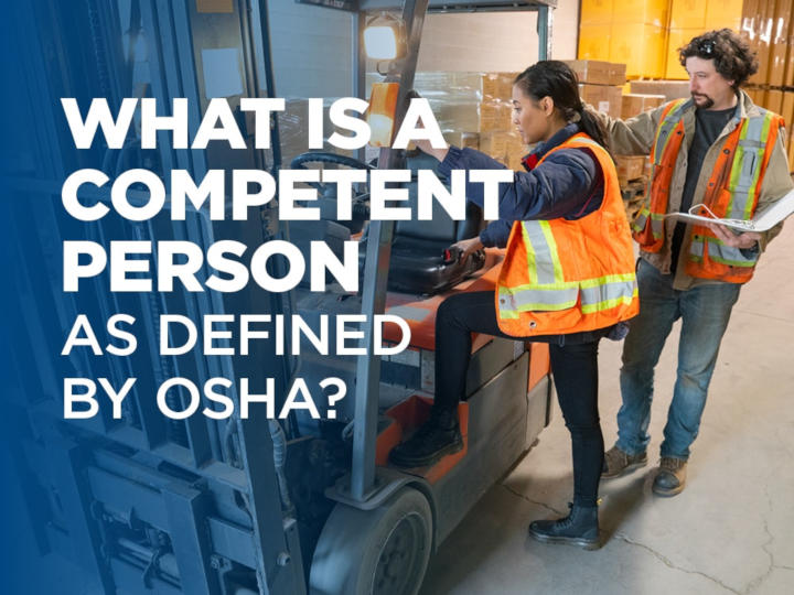 What Is a Competent Person as Defined by OSHA?