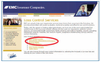 Loss Control Services List